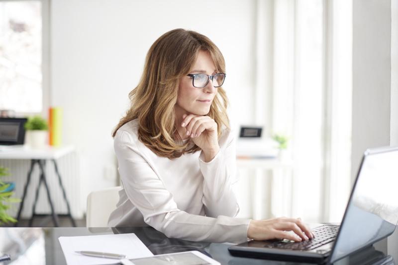 Kancelářské brýlové čočky